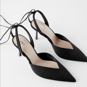 Zara vamp heel size 7.5/38 NWT